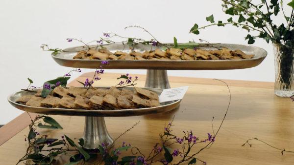 Empanadas gallegas en catering para eventos de empresa en Vigo.