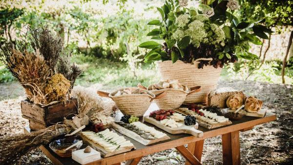Mesa de quesos catering eventos privados